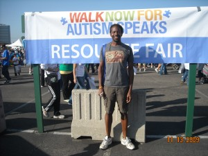 Ernest at Autism Walk