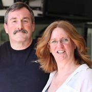 Janet Lawson and Dan Swearingen